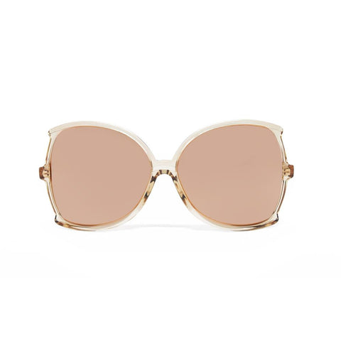 Linda Farrow 514 Oversized Sunglasses in Ash
