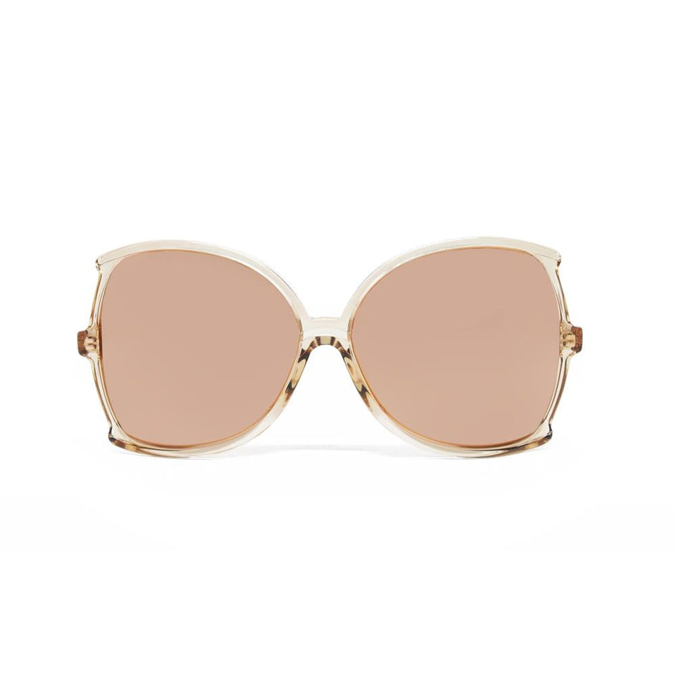 a6007cf4e6d4 Linda Farrow 514 Oversized Sunglasses in Ash