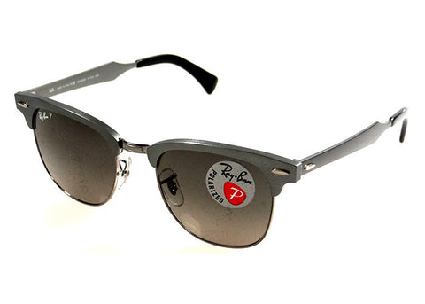 Ray-Ban RB3507 138/M8 Polarized Clubmaster Sunglasses