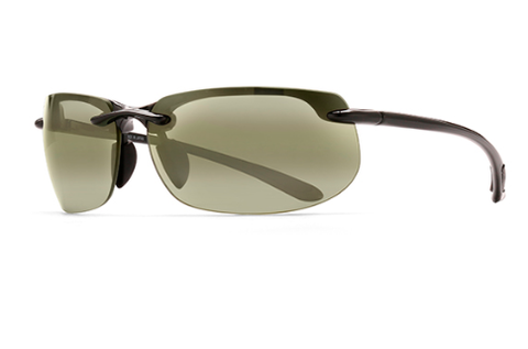Maui Jim HT412-02 Banyans Gloss Black