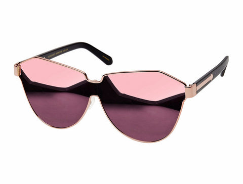 Karen Walker Cosmonaut Suprestars Rose Gold with Black