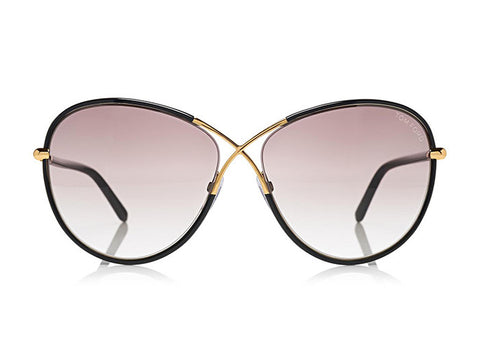 Tom Ford FT0344 ROSIE OVERSIZED BUTTERFLY SUNGLASSES