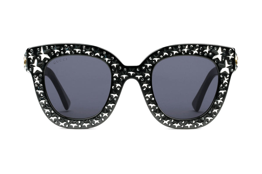 f519c4409 Gucci Cat Eye Acetate Sunglasses with Stars – Spectacle Hut