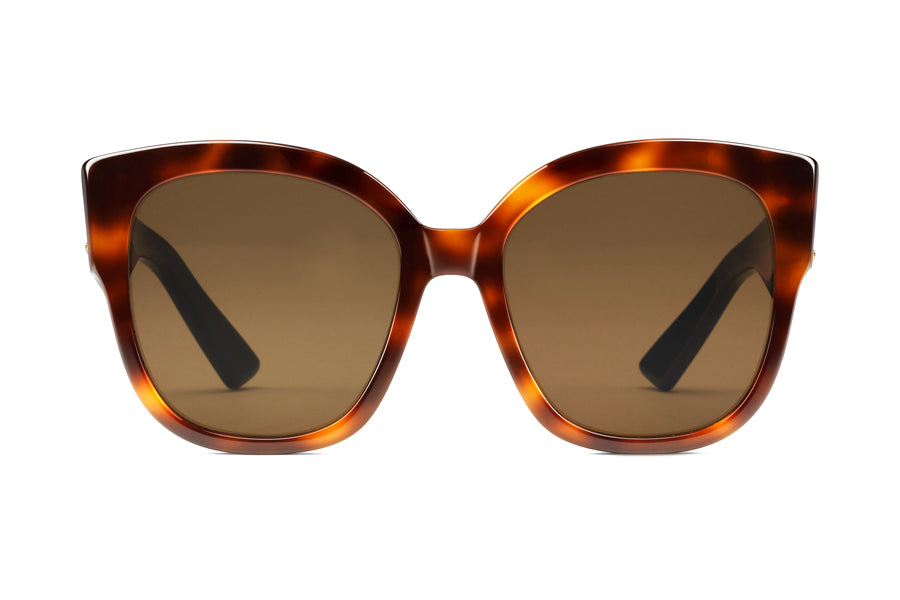 63c6ac3fe Gucci Square-frame Acetate Sunglasses with Web
