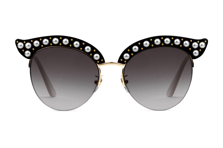474d5728d8 Gucci Cat Eye Acetate Sunglasses with Pearls – Spectacle Hut