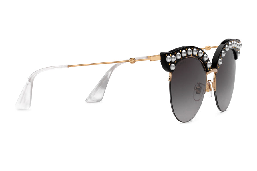 cceba04cf61 Gucci Cat Eye Acetate Sunglasses with Pearls – Spectacle Hut