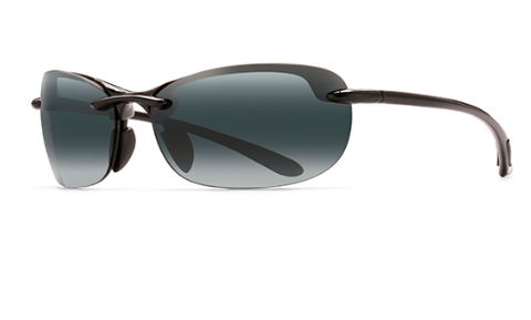 Maui Jim 413-02 Hanalei Gloss Black