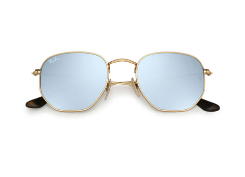 Ray-Ban Hexagonal Flat Lens RB3548N 001/30