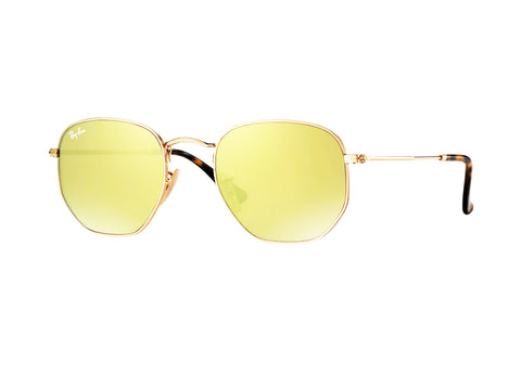 Ray-Ban Hexagonal Flat Lens RB3548N 001/93