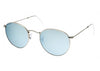 Ray-Ban RB3447 019/36 Round Metal Sunglasses