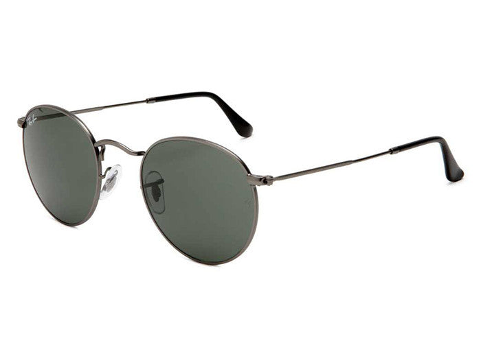 1cfef1e3c9 Ray-Ban RB3447 029 Round Metal Sunglasses