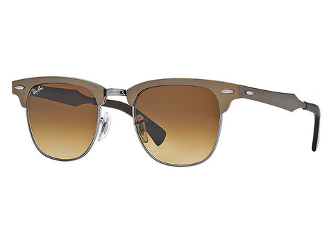 Ray-Ban RB3507 139/85 Aluminum Clubmaster Sunglasses