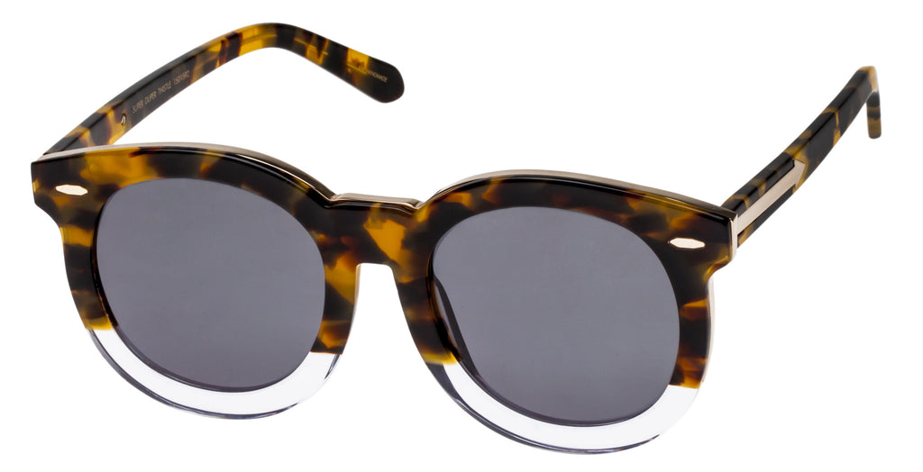 699be9b6105 Karen Walker Super Duper Thistle Tortoise Clear   Gold – Spectacle Hut