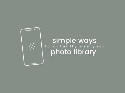 simple ways to use the photos in your phone