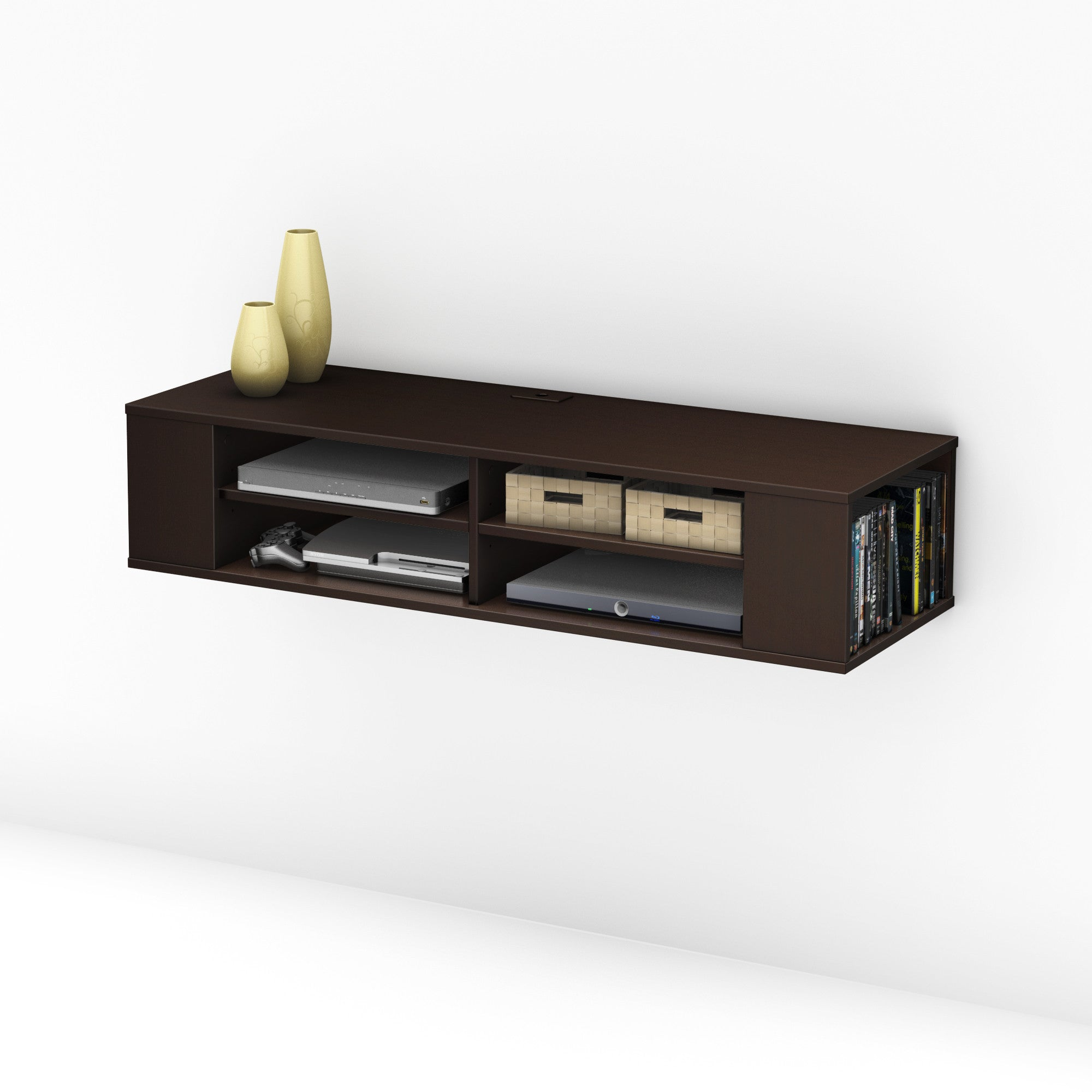 City Life 48 Quot Wall Mounted Media Console