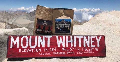 Mount Whitney with Expedition Joe Coffee Adventure Team Friel