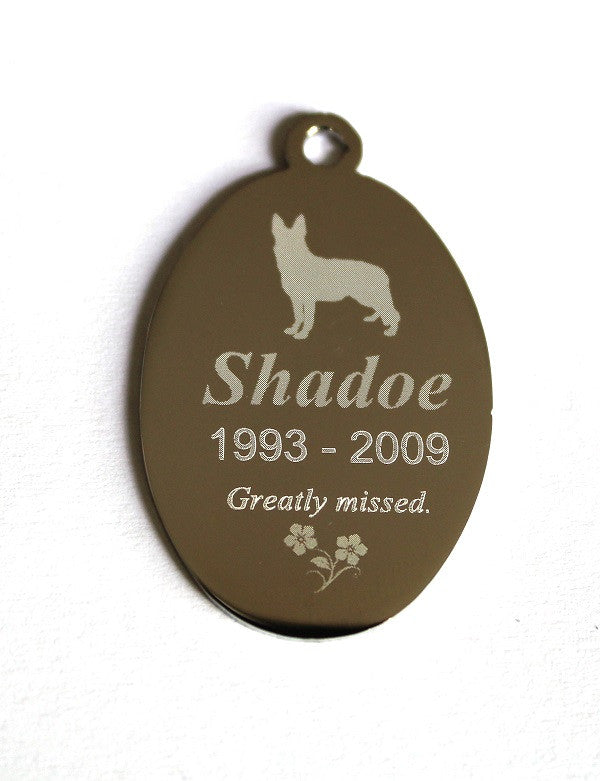Oval Pet Tag