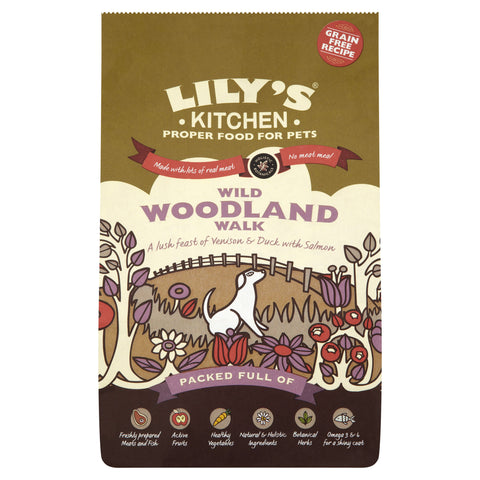 Lily's Kitchen - Wild Woodland Walk Grain-Free Food for Dogs