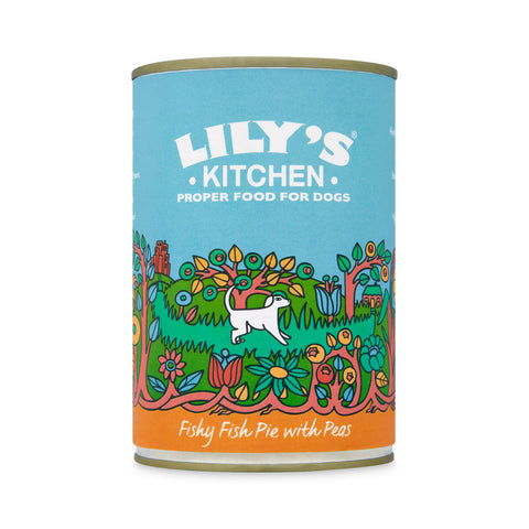 Lily's Kitchen - Fishy Fish Pie with Peas for Dogs