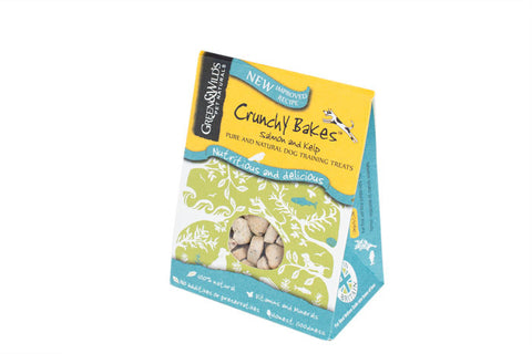 Crunchy Bakes - Salmon and Kelp Natural Training Treats