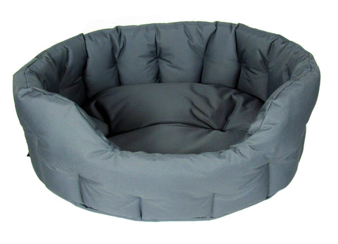 P & L Country Dog Waterproof Oval Dog Beds