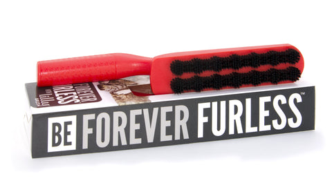 'Be Forever Furless' Pet Hair Remover Brush
