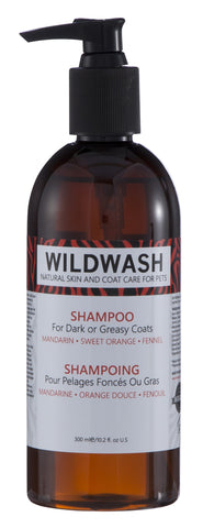 WildWash Shampoo for Dark / Greasy Coats