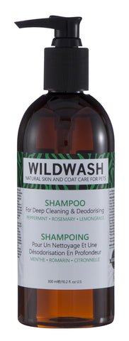 WildWash Shampoo for Deep Cleaning and Deodorising