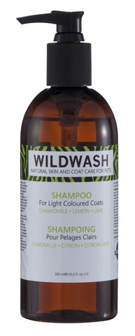 WildWash Shampoo For Light Coloured Coats