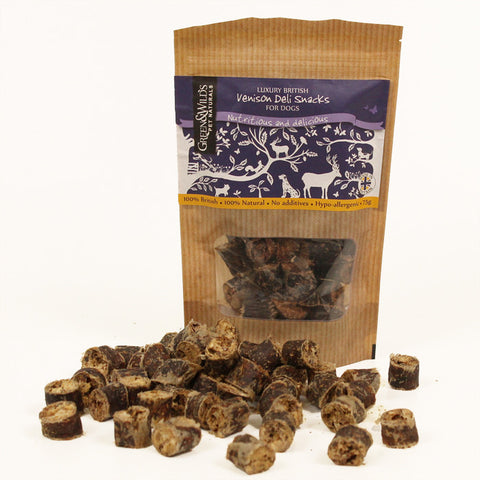 Venison Deli Snacks for Dogs