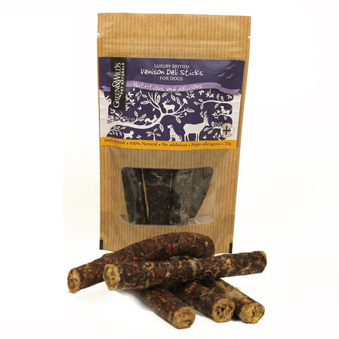 Venison Sticks for Dogs