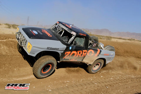 Steve Olliges in his Total Performance power 1979 F-100 Class 8!
