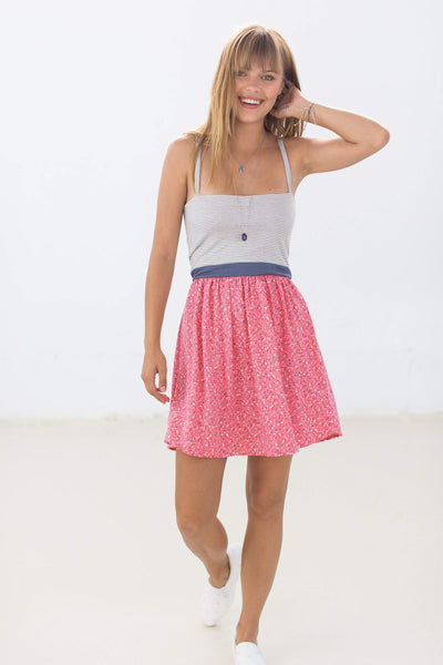 Dress Petit Navy Pink Floral