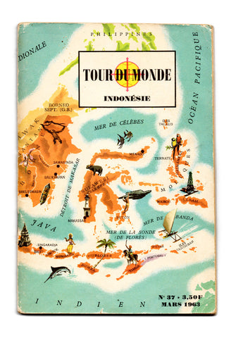 Tour du monde: Indonesia. Francia, 1961