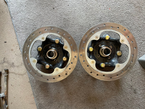 Can Am hubs and rotors