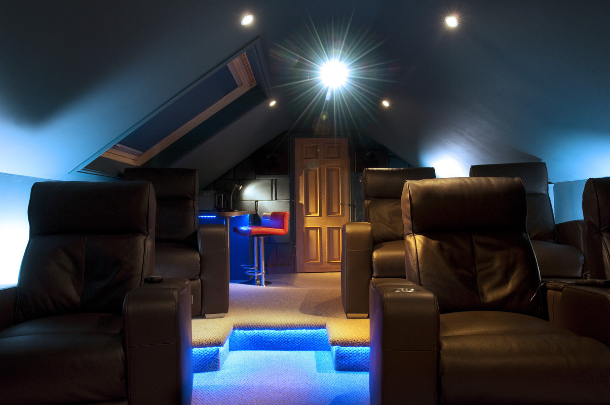 Luxurious Home Cinema Seating