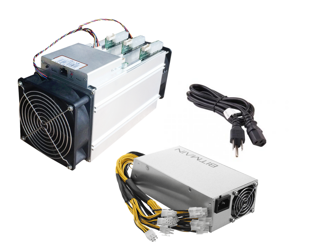 AntMiner V9 4TH/s @0.253W/GH ASIC Bitcoin/Bitcoin Cash [SHA256] Miner with PSU