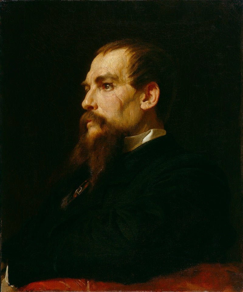 Sir Richard Francis Burton NPG 1070 Portrait Print