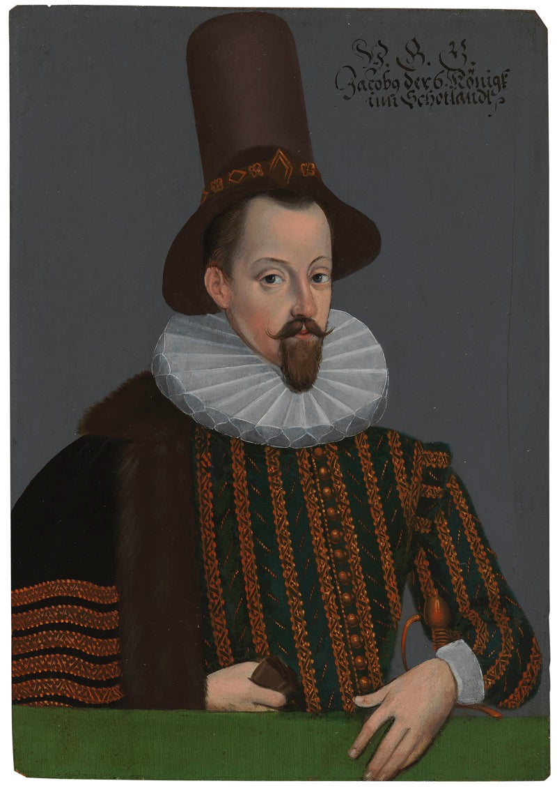 King James I of England and VI of Scotland NPG 1188 Portrait Print