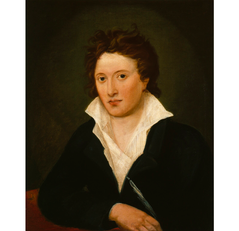 Percy Bysshe Shelley NPG 1234 Portrait Print
