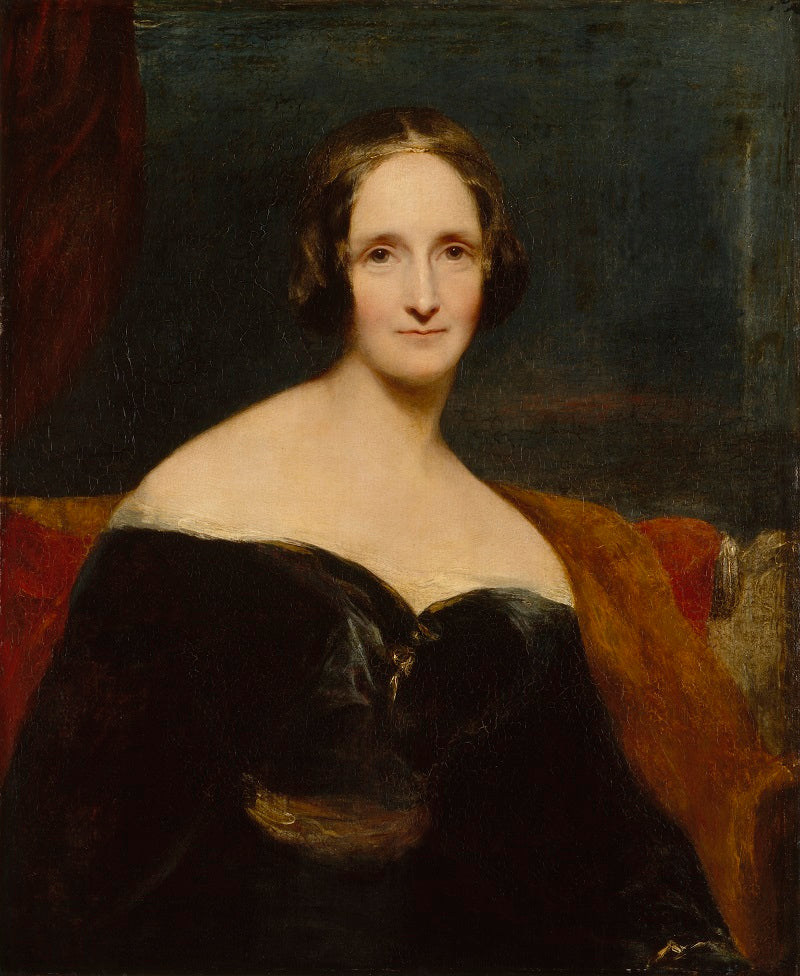 Mary Wollstonecraft Shelley NPG 1235 Portrait Print