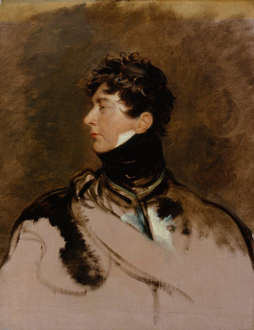 King George IV NPG 123 Portrait Print