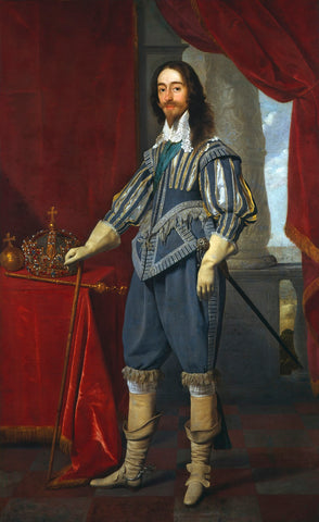 King Charles I NPG 1246 Portrait Print