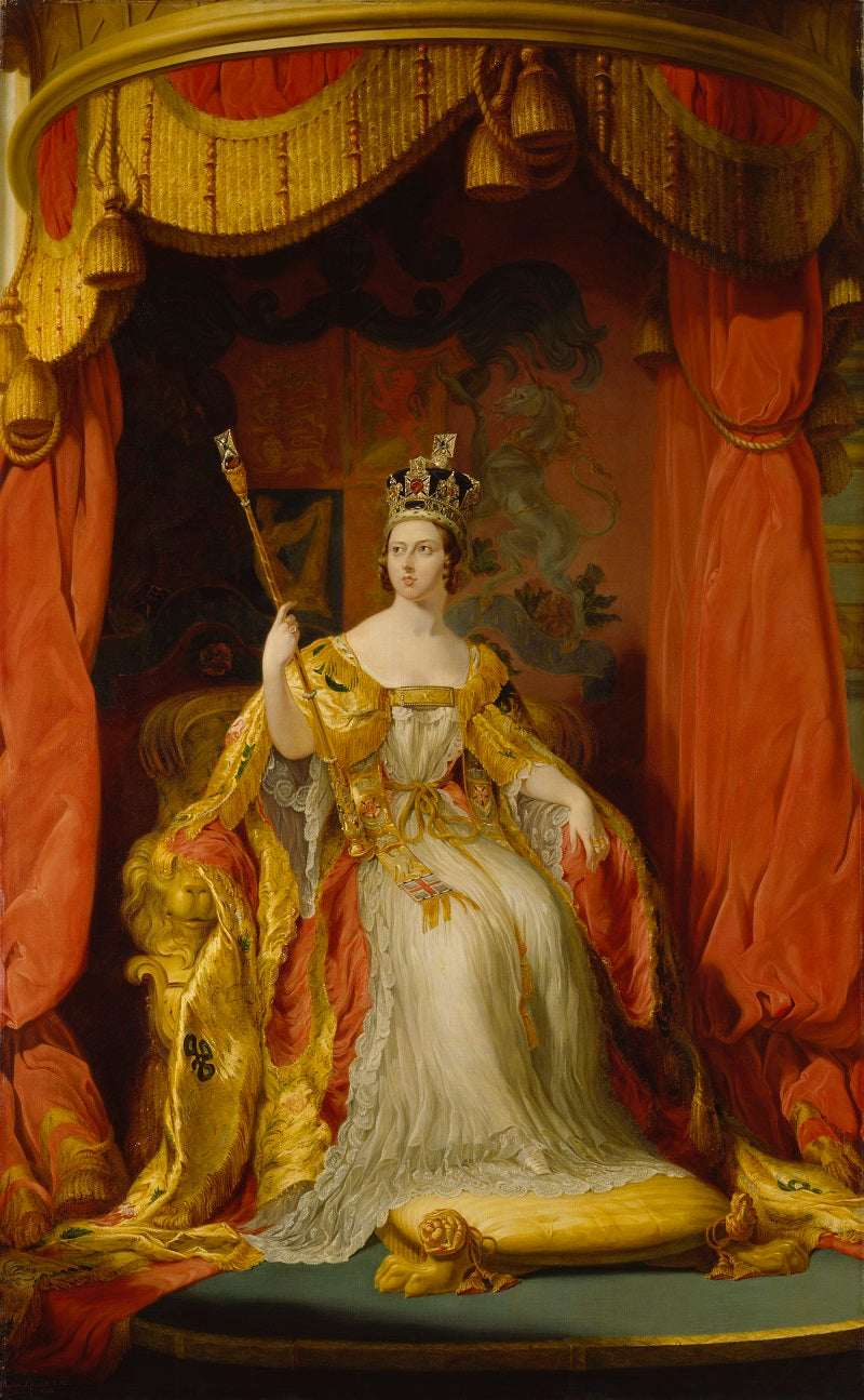 Queen Victoria NPG 1250 Portrait Print