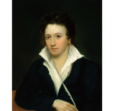 Percy Bysshe Shelley NPG 1271 Portrait Print