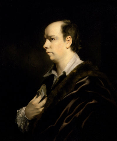 Oliver Goldsmith NPG 130 Portrait Print