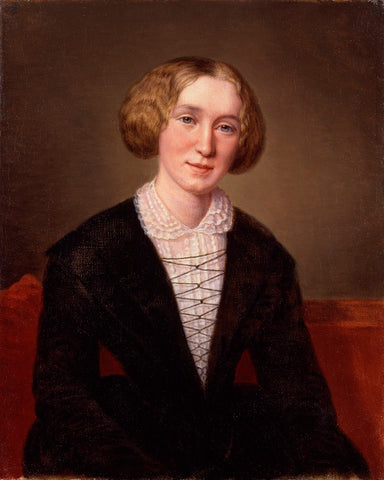 George Eliot (Mary Ann Cross (née Evans)) NPG 1405 Portrait Print