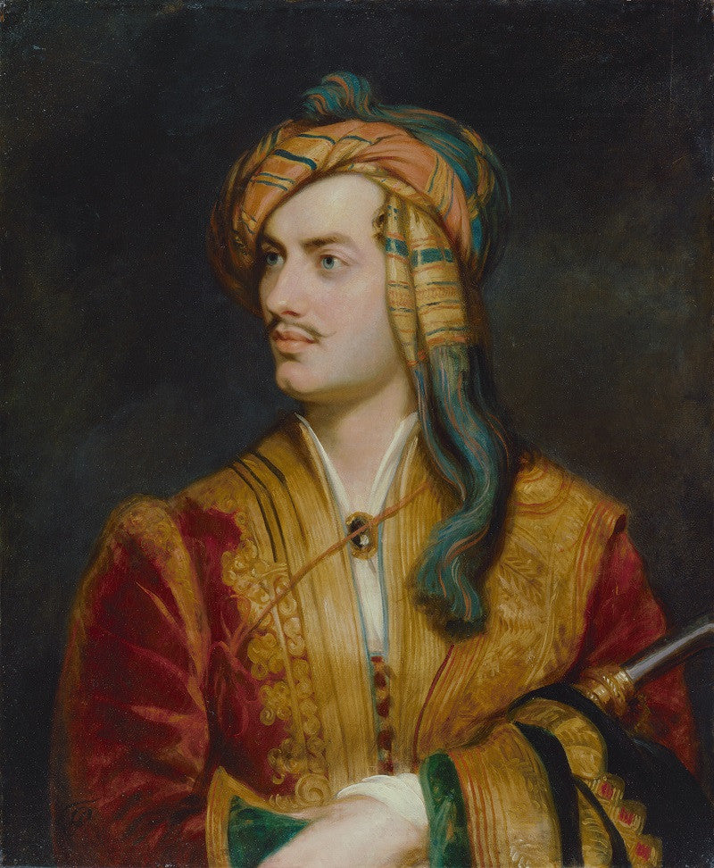 George Gordon Byron, 6th Baron Byron NPG 142 Portrait Print