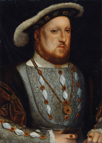 King Henry VIII NPG 157 Portrait Print