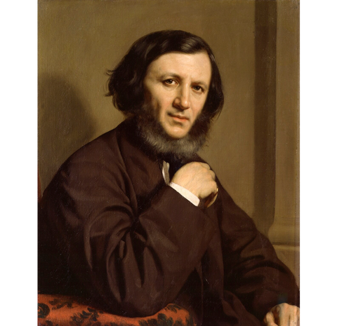 Robert Browning NPG 1898 Portrait Print